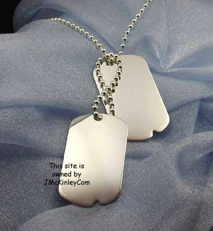 military dog tag chain