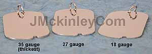 thick dog tags